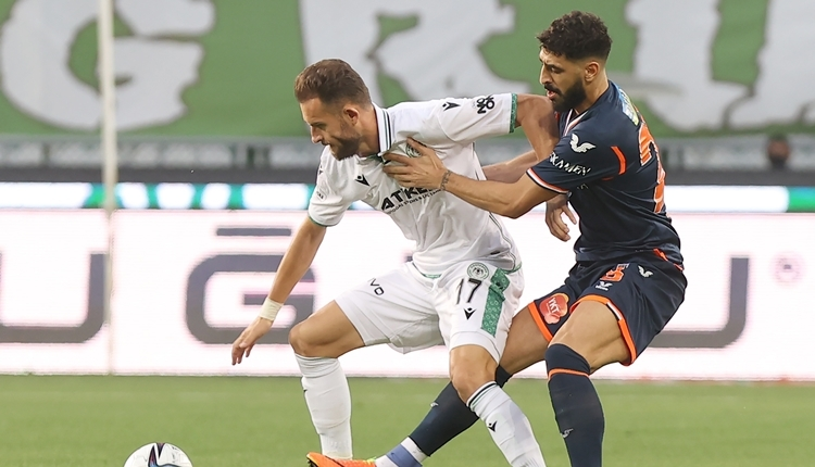 Konyaspor 2-1 Başakşehir maç özeti ve golleri (İZLE)
