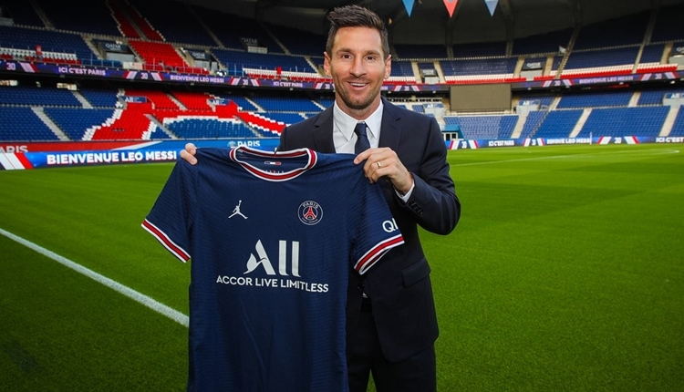 Lionel Messi'ye PSG Fan Token ile ödeme yapılacak