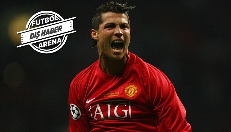 Cristiano Ronaldo Manchester United'da! Resmen açıklandı