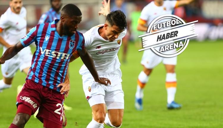 Trabzonspor 1-2 Roma maç özeti ve golleri (İZLE)