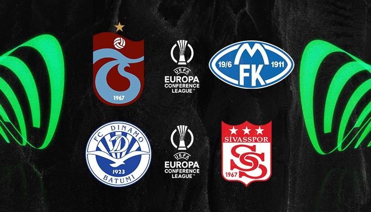 Trabzonspor-Molde ve D. Batum-Sivasspor maçı hangi kanalda?