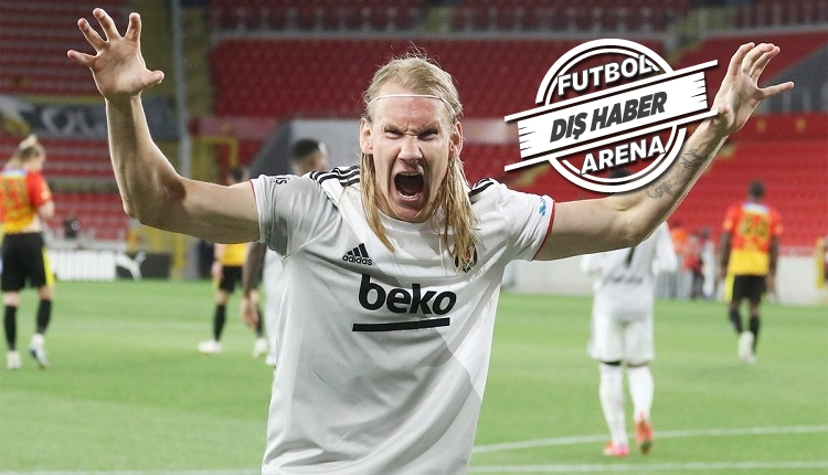 Vida'nın menajeri: 'Teklif yok! Beşiktaş'ta çok mutlu'
