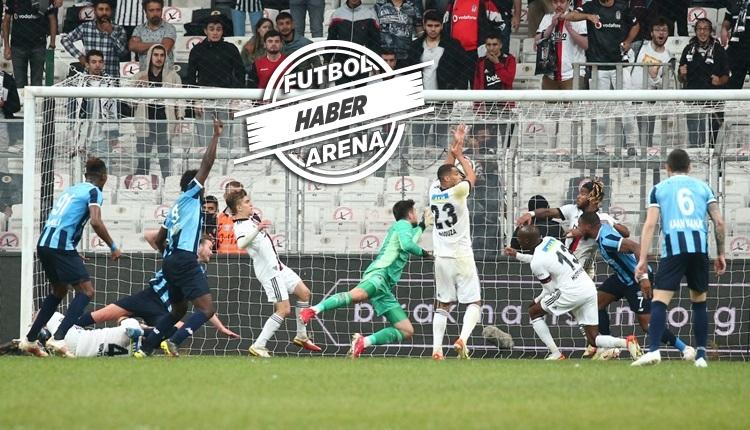 Adana Demirspor, Beşiktaş deplasmanında geri döndü: 3-3 (İZLE)