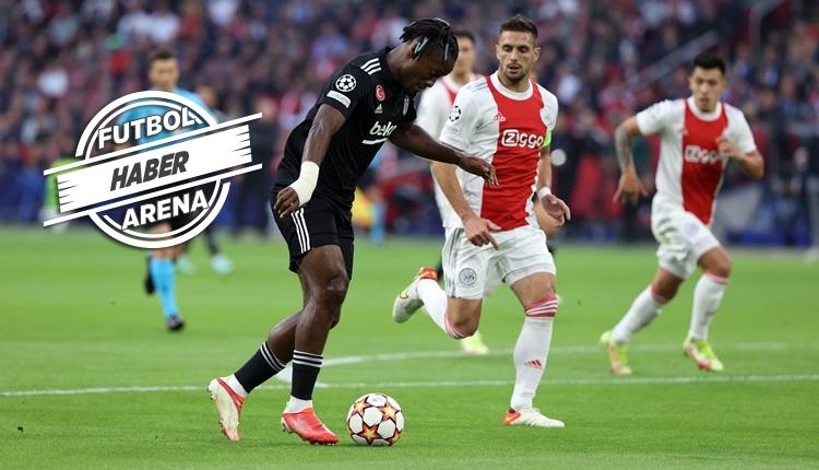 Beşiktaş eksiklerle Ajax deplasmanında kaybetti (İZLE)