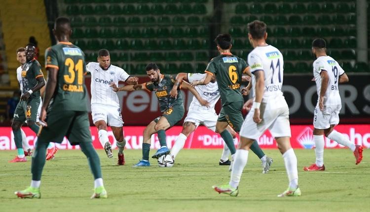 Alanyaspor 2-0 Kasımpaşa maç özeti ve golleri (İZLE)
