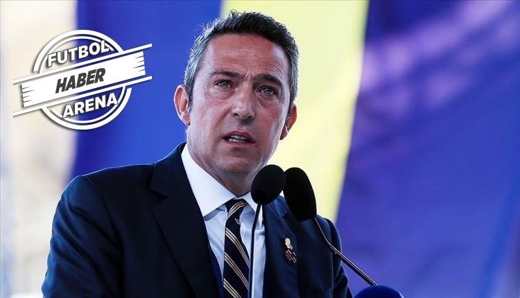 Ali Koç'tan Halil Dervişoğlu ve forvet transferi açıklaması