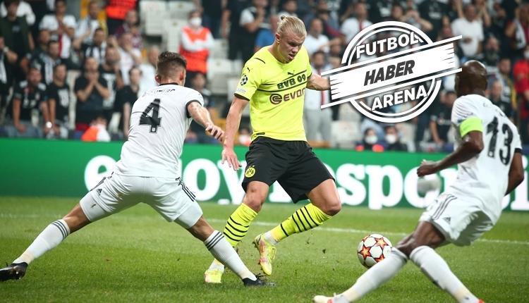 Beşiktaş, Vodafone Park'ta Dortmund'a kaybetti (İZLE)
