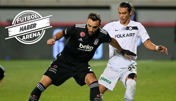 Beşiktaş eksiklerle Altay deplasmanında kaybetti (İZLE)