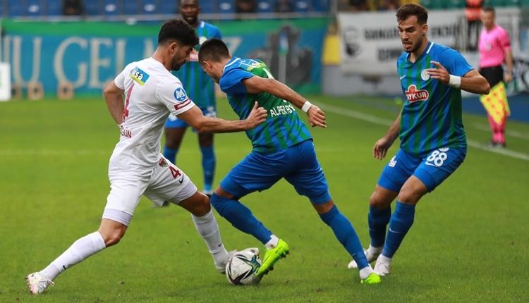 Çaykur Rizespor 0-2 Hatayspor maç özeti ve golleri (İZLE)