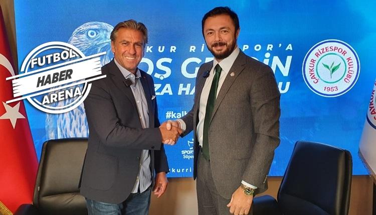 Çaykur Rizespor'un yeni teknik direktörü Hamza Hamzaoğlu