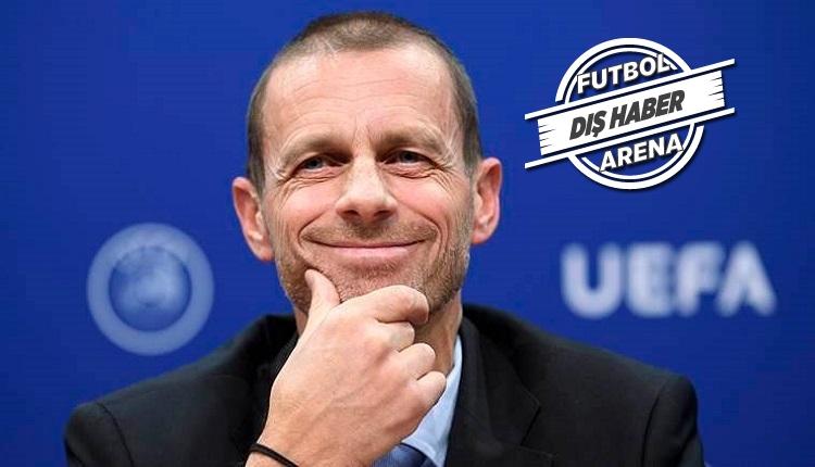 Ceferin'den Perez'e: 'Para yoksa 180 milyon euro nasıl ödüyorsun?'