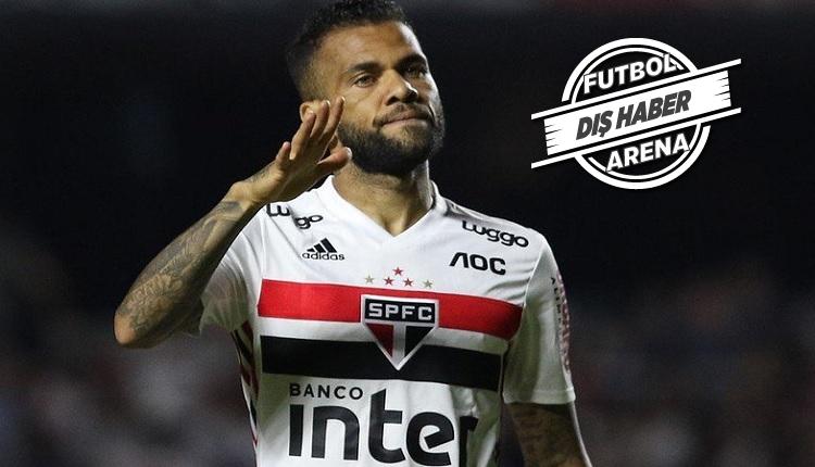 Dani Alves Sao Paulo'dan ayrıldı