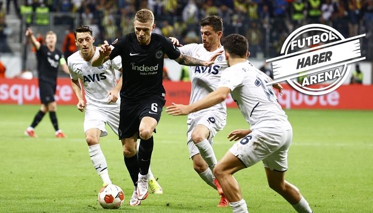 Eintracht Frankfurt 1-1 Fenerbahçe maç özeti ve golleri (İZLE)