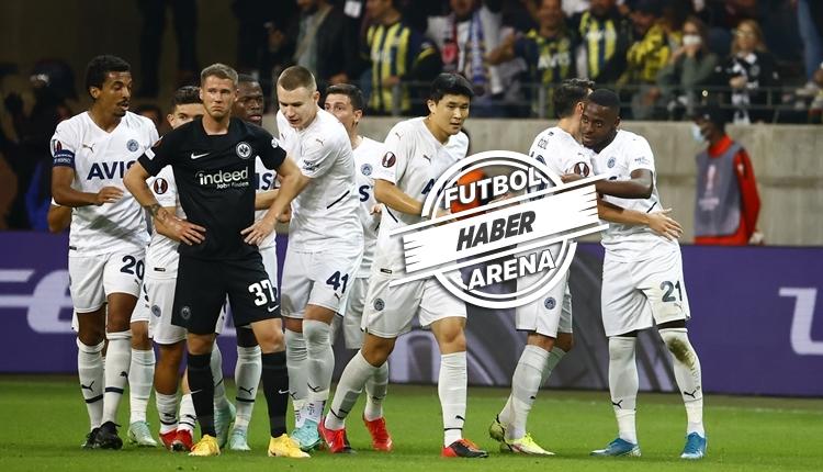 Fenerbahçe, Frankfurt deplasmanından 1 puanla döndü (İZLE)