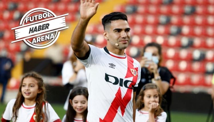 Falcao Rayo Vallecano'da ilk maçında gol attı