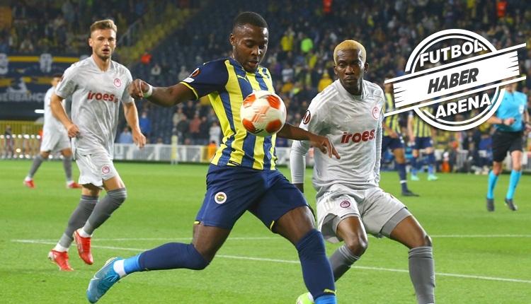 Fenerbahçe, Kadıköy'de Olympiakos'a 3 golle kaybetti (İZLE)