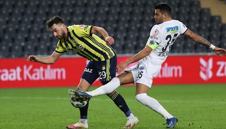 Fenerbahçe'den UEFA listesi açıklaması! Sinan Gümüş kadro dışı