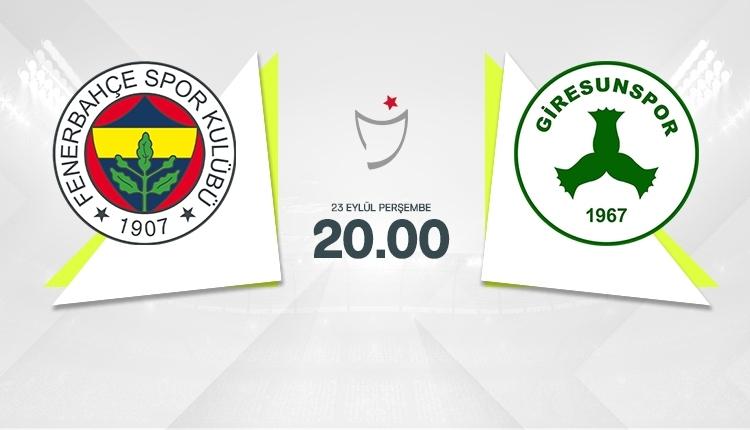 Fenerbahçe-Giresunspor canl izle, Fenerbahçe-Giresunspor şifresiz izle (Fenerbahçe-Giresunspor beIN Sports canlı izle, Fenerbahçe-Giresunspor şifresiz İZLE)