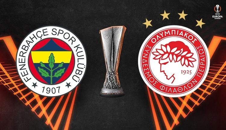 Fenerbahçe-Olympiakos canlı izle, Fenerbahçe-Olympiakos şifresiz izle (Fenerbahçe-Olympiakos Exxen TV canlı izle)