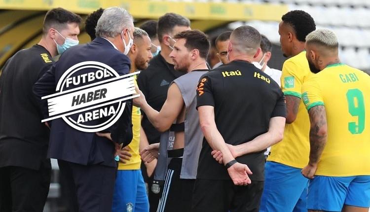 Brezilya - Arjantin maçı askıya alındı! İşte olaylar