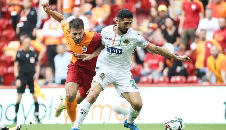 Galatasaray 0-1 Alanyaspor maç özeti ve golü (İZLE)
