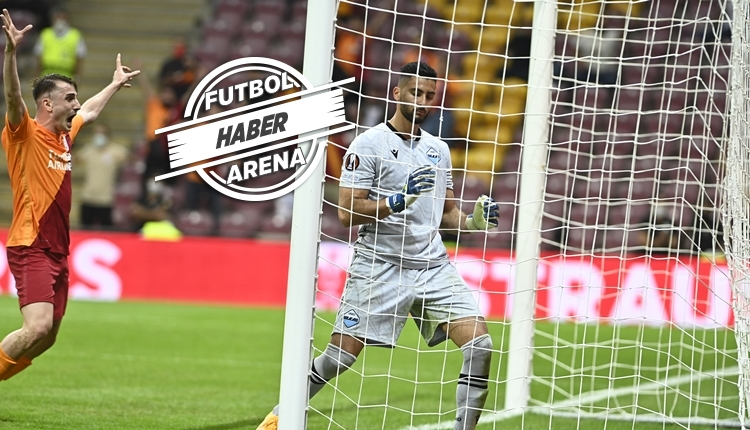 Galatasaray, Avrupa'da Lazio'yu devirdi (İZLE)