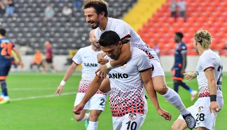 Gaziantep FK 1-0 Başakşehir maç özeti ve golü