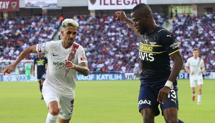 Hatayspor 1-2 Fenerbahçe maç özeti ve golleri (İZLE)