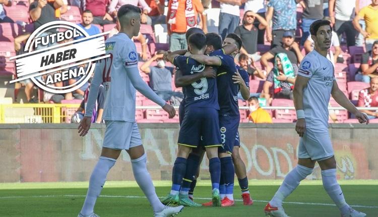 Fenerbahçe, Hatayspor deplasmanından galip döndü (İZLE)