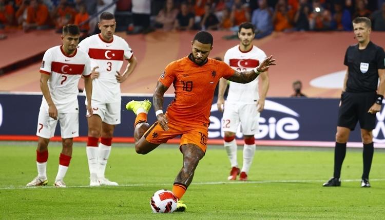 Hollanda 6-1 Türkiye maç özeti ve golleri (İZLE)