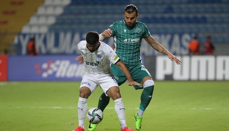 Kasımpaşa 2-2 Konyaspor maç özeti ve golleri (İZLE)