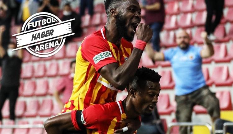 Kayserispor 2-0 Kasımpaşa maç özeti ve golleri (İZLE)