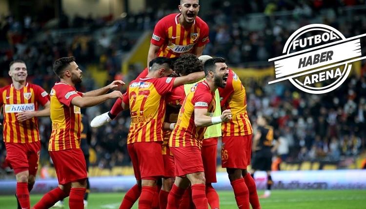 Kayserispor 3-0 Galatasaray maç özeti ve golleri (İZLE)