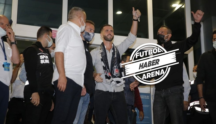 Miralem Pjanic, İstanbul'a karşılama ile döndü