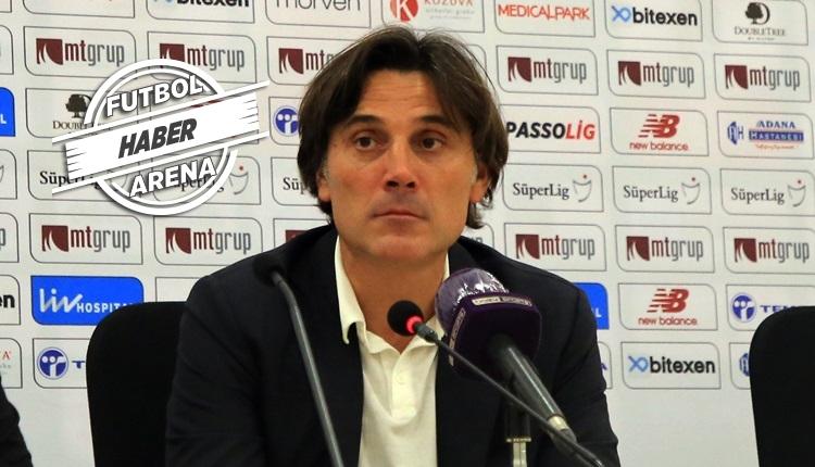 Montella: 'Balotelli'nin Sergen'e hareketi doğru değil ama...'