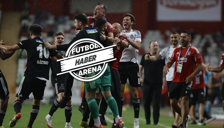 Müthiş maç! Beşiktaş 2-0'dan dönerek Antalyaspor'u yendi (İZLE)