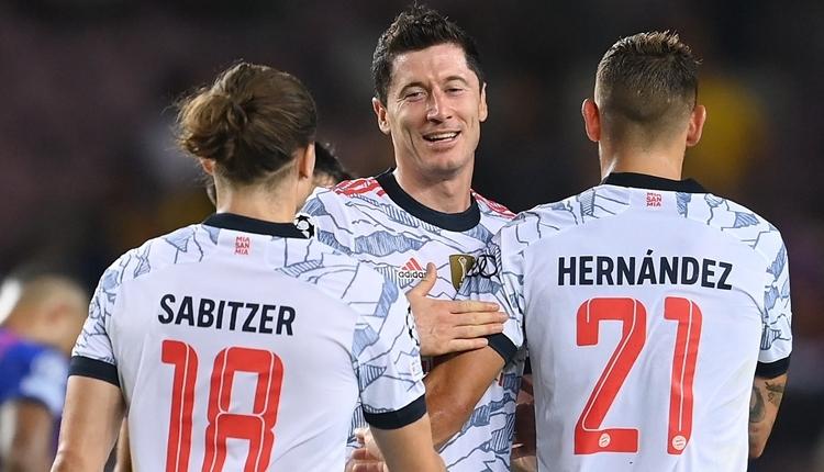 Şampiyonlar Ligi'nde günün sonuçları (Barcelona 0-3 Bayern Münih maç özeti)