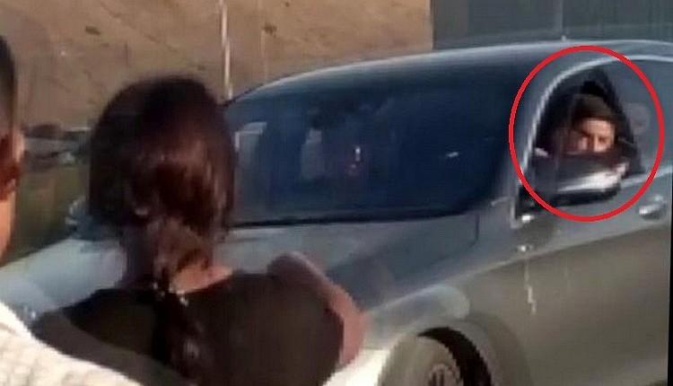 Sezer Öztürk ve arkadaşının trafikte karıştığı olay