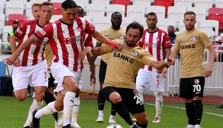 Sivasspor 1-1 Gaziantep FK maç özeti ve golleri İZLE