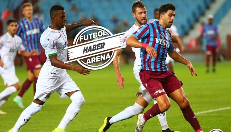 Trabzonspor 1-1 Alanyaspor maç özeti ve golleri (İZLE)