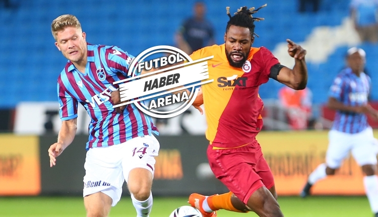 Trabzonspor - Galatasaray maçında 4 gol var, kazanan yok (İZLE)