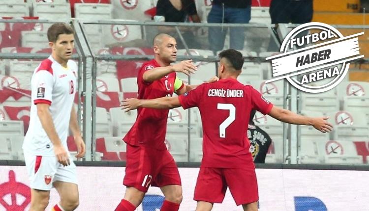 Türkiye 2-2 Karadağ maç özeti ve golleri (İZLE)