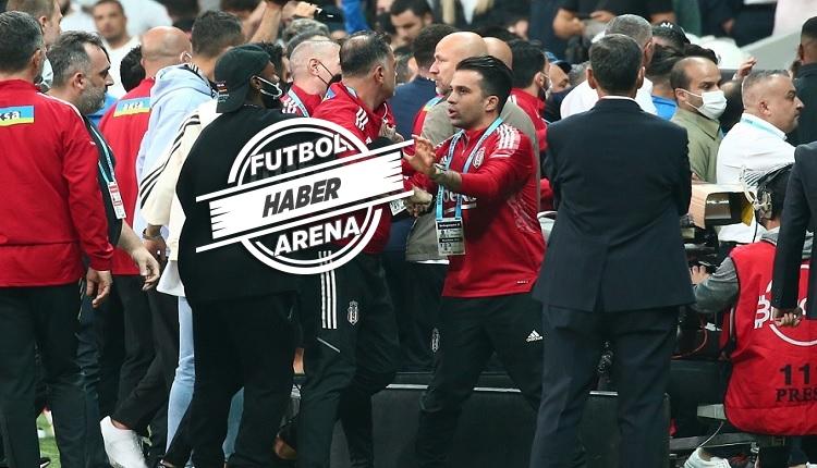 Vodafone Park'ta saha karıştı! Beşiktaş'tan Balotelli'ye tepki