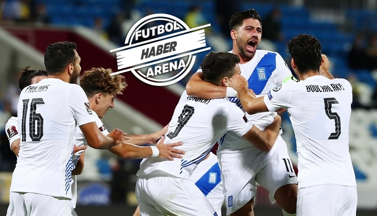 Yunanistan kazandı! Bakasetas'tan 1 gol