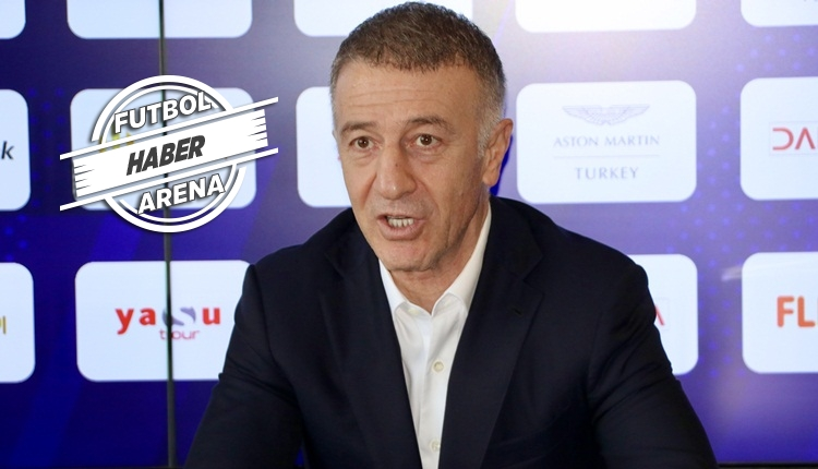 Ahmet Ağaoğlu: 'Kırmızı kartta ayakla müdahale ve itme var'