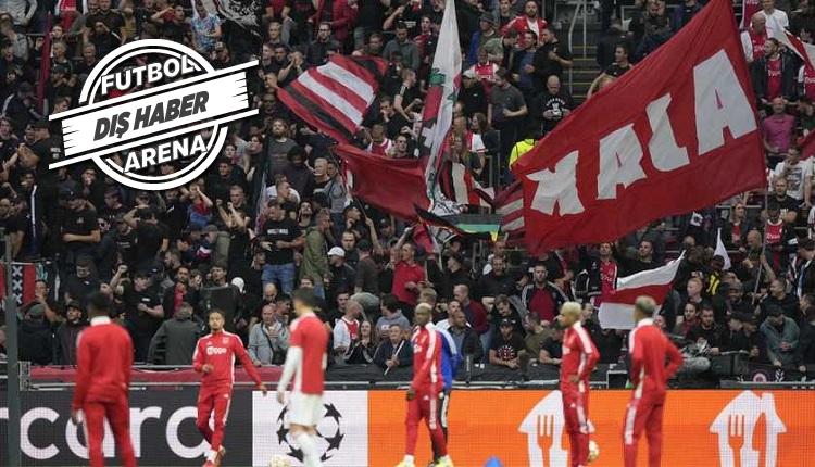 Ajax'tan açıklama: Beşiktaş maçında taraftarlarımız olmayacak