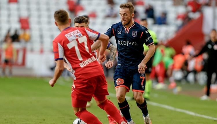 Antalyaspor 1-2 Başakşehir maç özeti ve golü (İZLE)