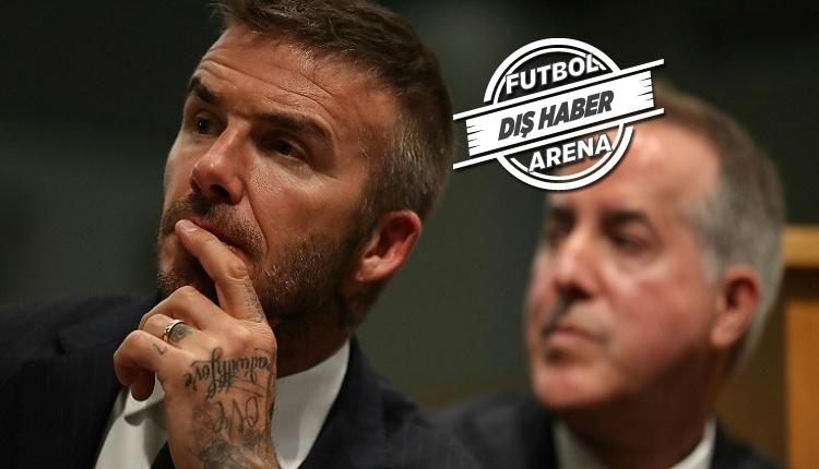 Beckham'ın takımında isyan!