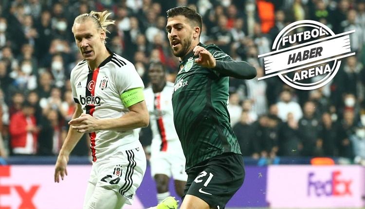 Beşiktaş, Vodafone Park'ta Sporting Lizbon'a kaybetti (İZLE)