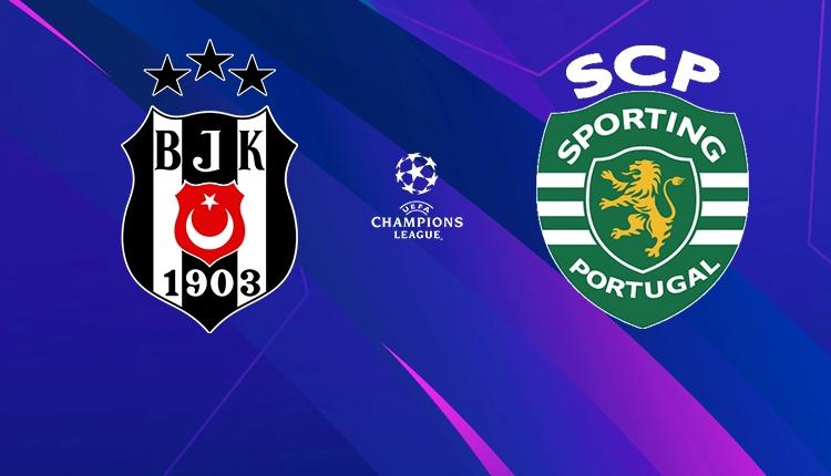 Beşiktaş - Sporting Lizbon maçı ilk 11'leri